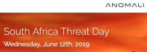 South Africa Threat Day (currently invitation only)