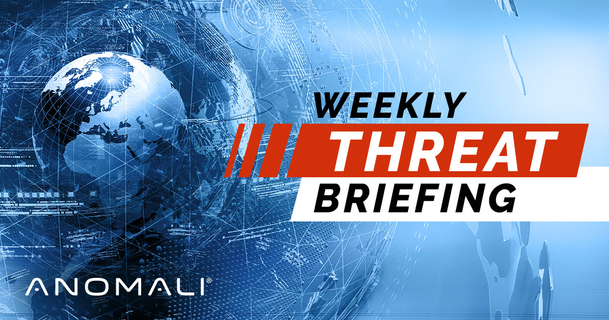 Weekly Threat Briefing: APT Group, Cobalt, COVID-19, Ransomware and More - RapidAPI