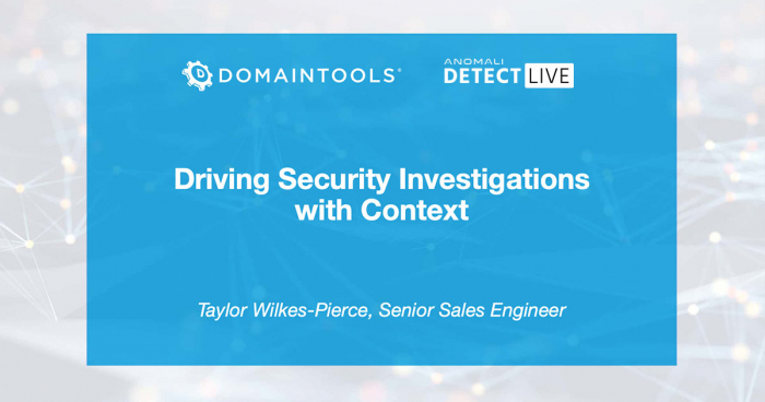 Driving Security Investigations with Context