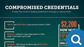 Compromised Credentials Infographic