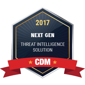 CDM Next Gen Threat intelligence Solution 2017