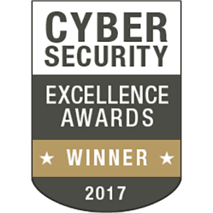 Cyber Security Excellence Award Winner 2017