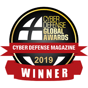 Cyber Defense Global Awards Winner 2019