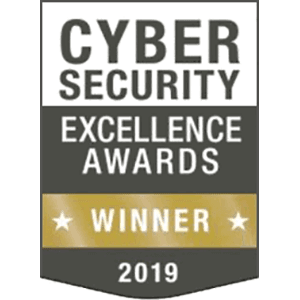 Cyber Security Excellence Awards Winner 2019