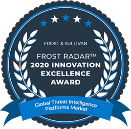 Frost & Sullivan: Frost Radar 2020 Innovation Excellence Award